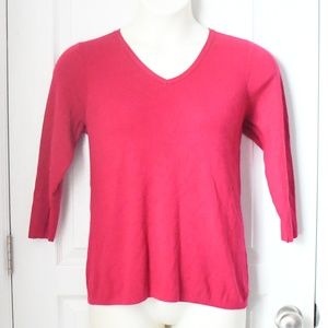 EUC Dressbarn Pink/Magenta Sweater